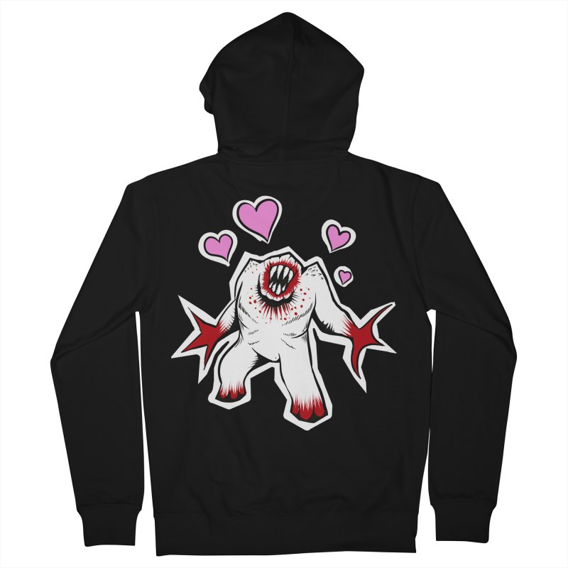 Shambler Love Women's French Terry Zip-Up Hoody by kingakorska's Artist Shop