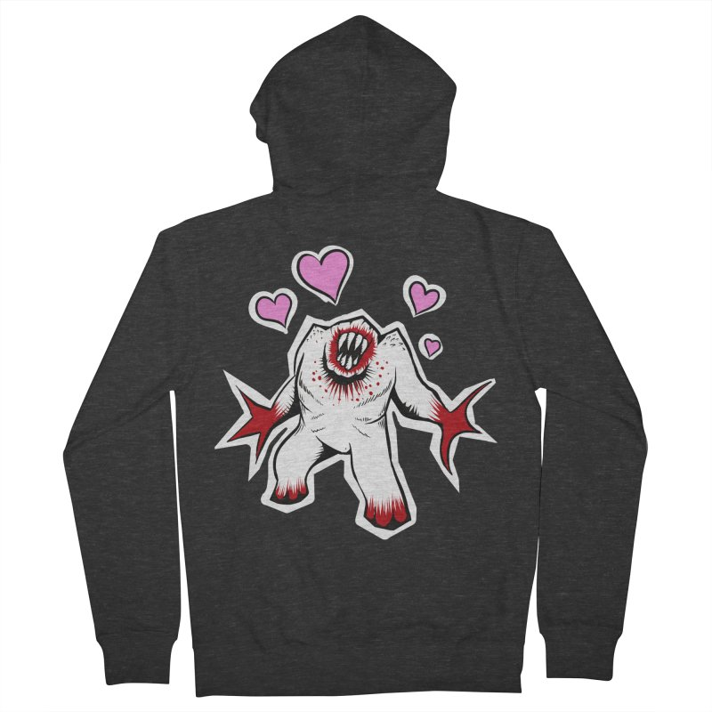 Shambler Love Men's Zip-Up Hoody by kingakorska's Artist Shop