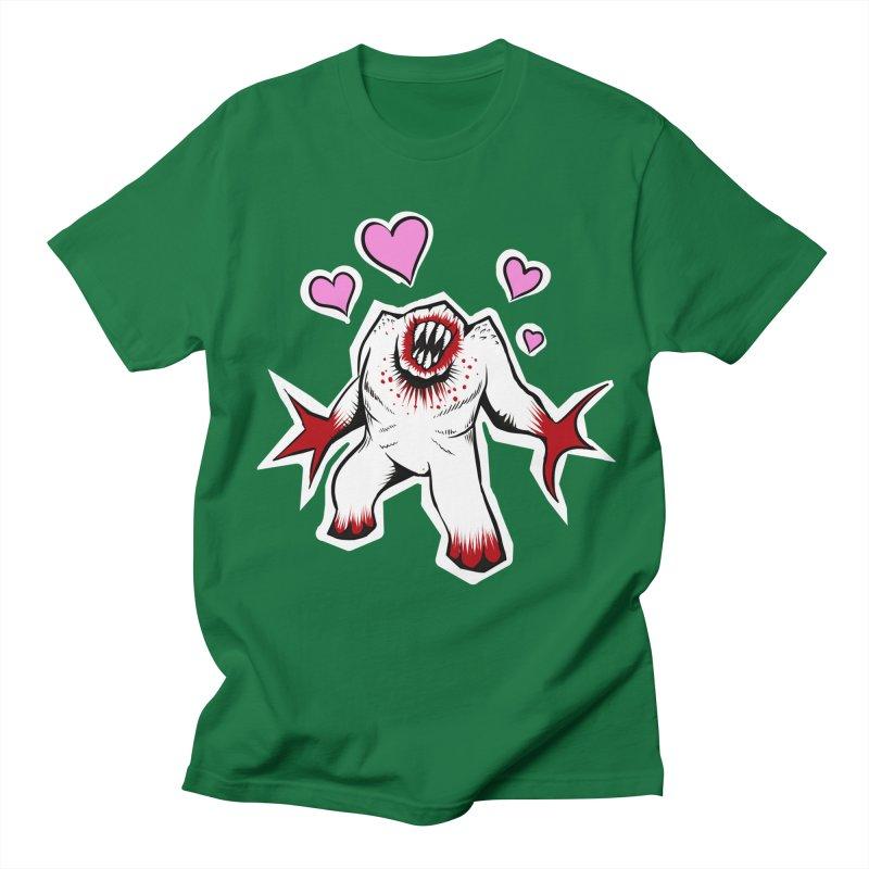 Shambler Love Men's Regular T-Shirt by kingakorska's Artist Shop