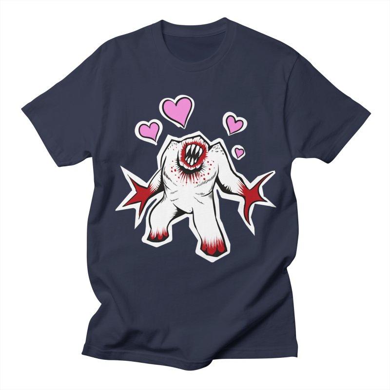 Shambler Love Men's T-shirt by kingakorska's Artist Shop