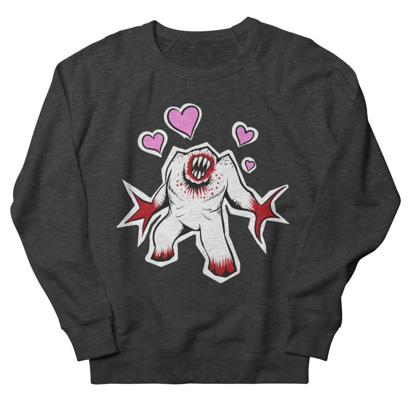 Shambler Love Women's Sweatshirt by kingakorska's Artist Shop