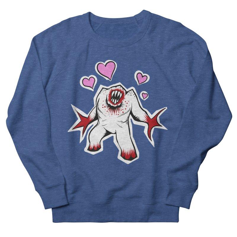 Shambler Love Women's French Terry Sweatshirt by kingakorska's Artist Shop