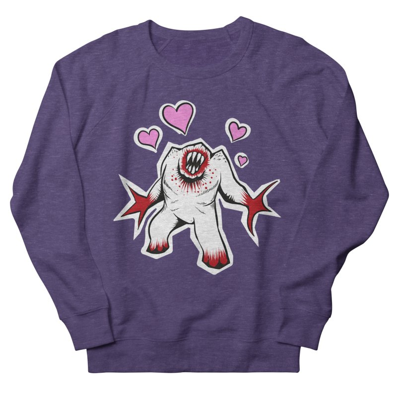 Shambler Love Women's French Terry Sweatshirt by kingakorska's Artist Shop