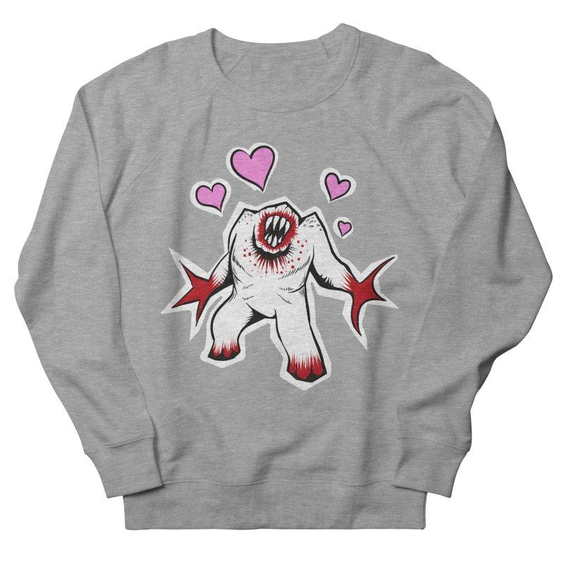 Shambler Love Men's French Terry Sweatshirt by kingakorska's Artist Shop