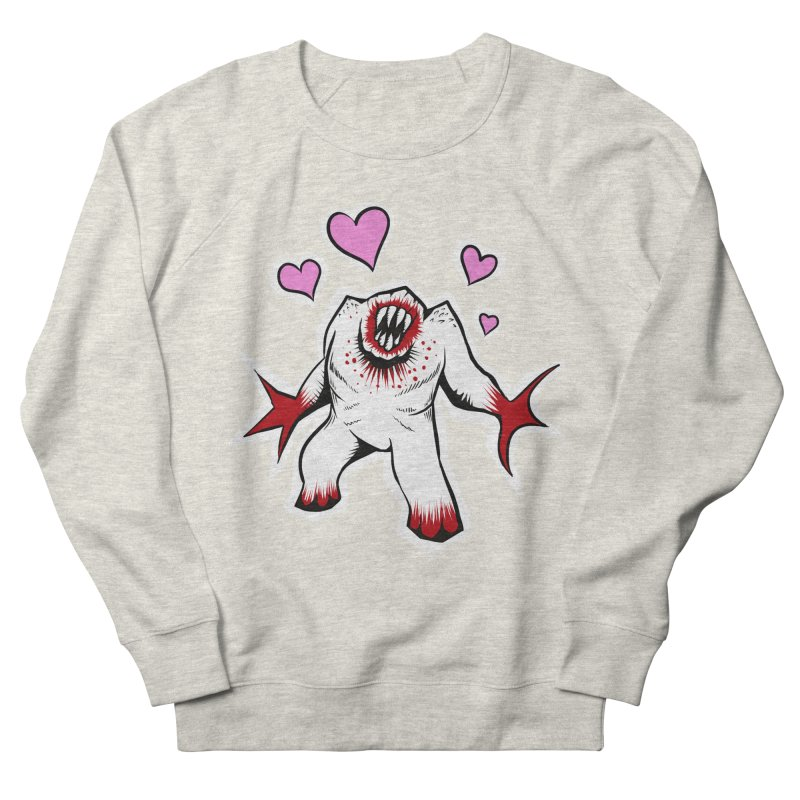 Shambler Love Men's French Terry Sweatshirt by kingakorska's Artist Shop