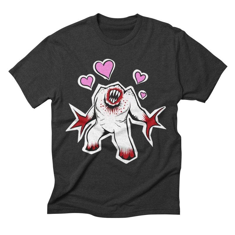 Shambler Love Men's Triblend T-Shirt by kingakorska's Artist Shop