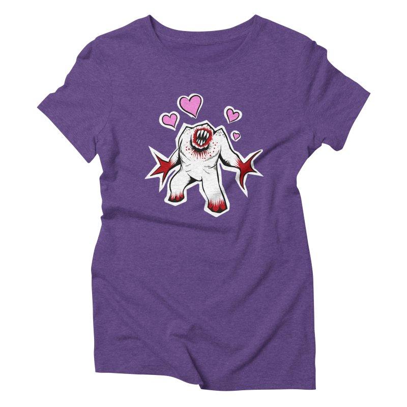 Shambler Love Women's Triblend T-Shirt by kingakorska's Artist Shop