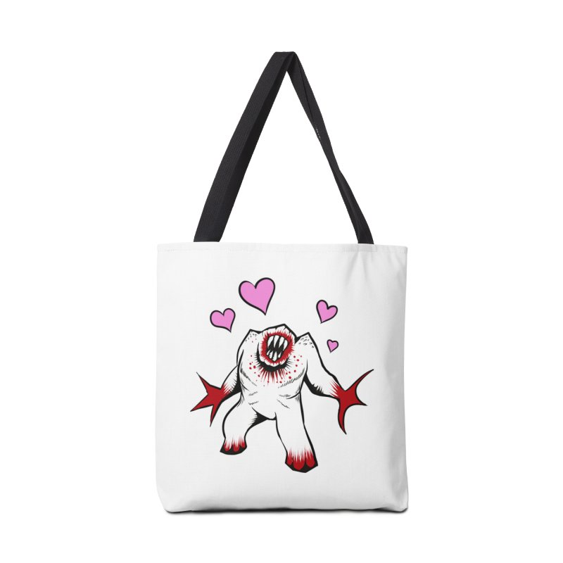 Shambler Love Accessories Tote Bag Bag by kingakorska's Artist Shop