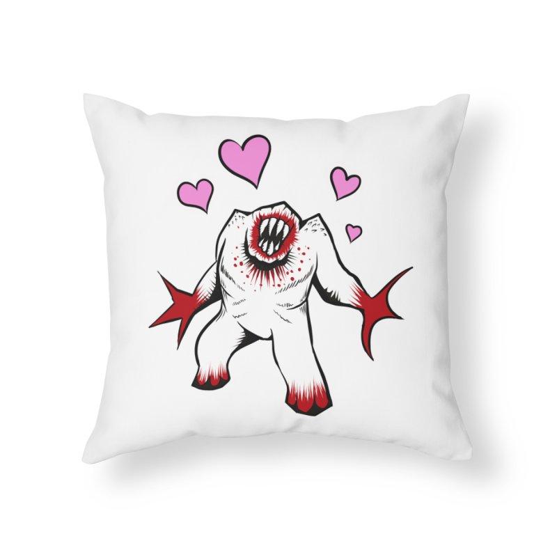Shambler Love Home Throw Pillow by kingakorska's Artist Shop