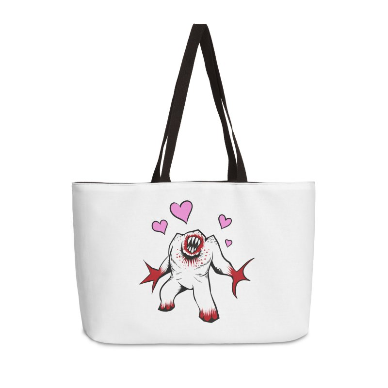 Shambler Love Accessories Weekender Bag Bag by kingakorska's Artist Shop