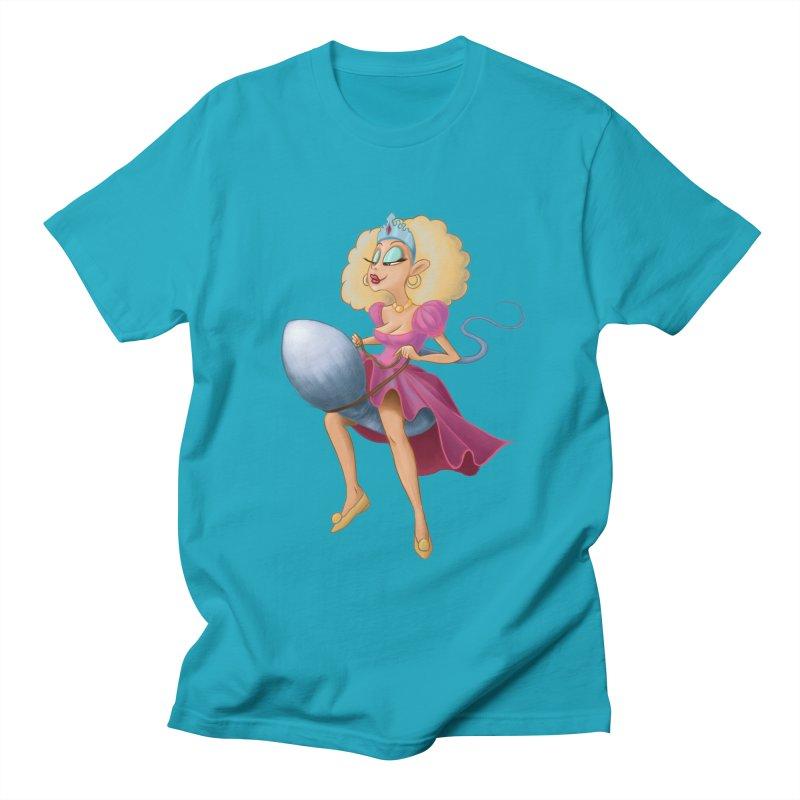 Princess on a Spermatozoid Men's T-Shirt by kingakorska's Artist Shop