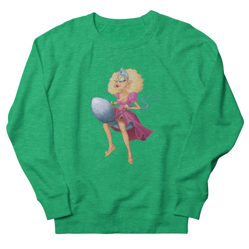 Princess on a Spermatozoid Women's Sweatshirt by kingakorska's Artist Shop