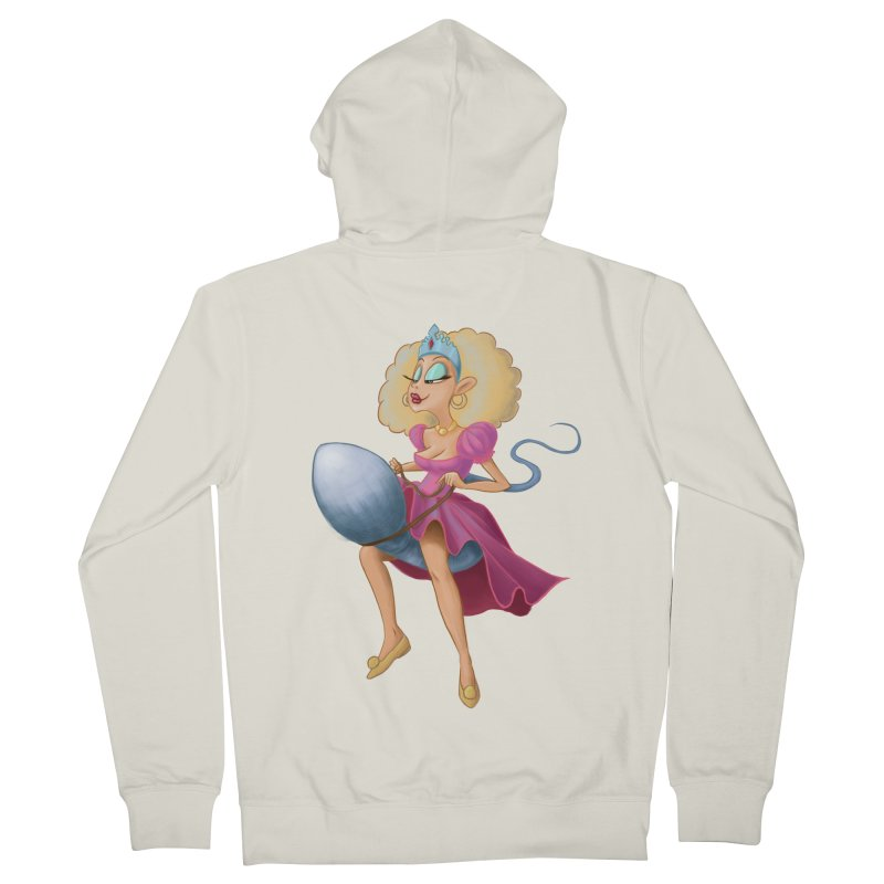 Princess on a Spermatozoid Women's Zip-Up Hoody by kingakorska's Artist Shop