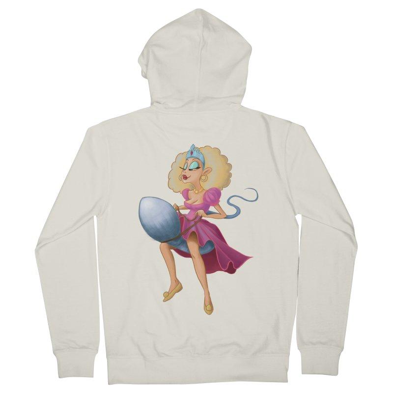 Princess on a Spermatozoid Men's Zip-Up Hoody by kingakorska's Artist Shop
