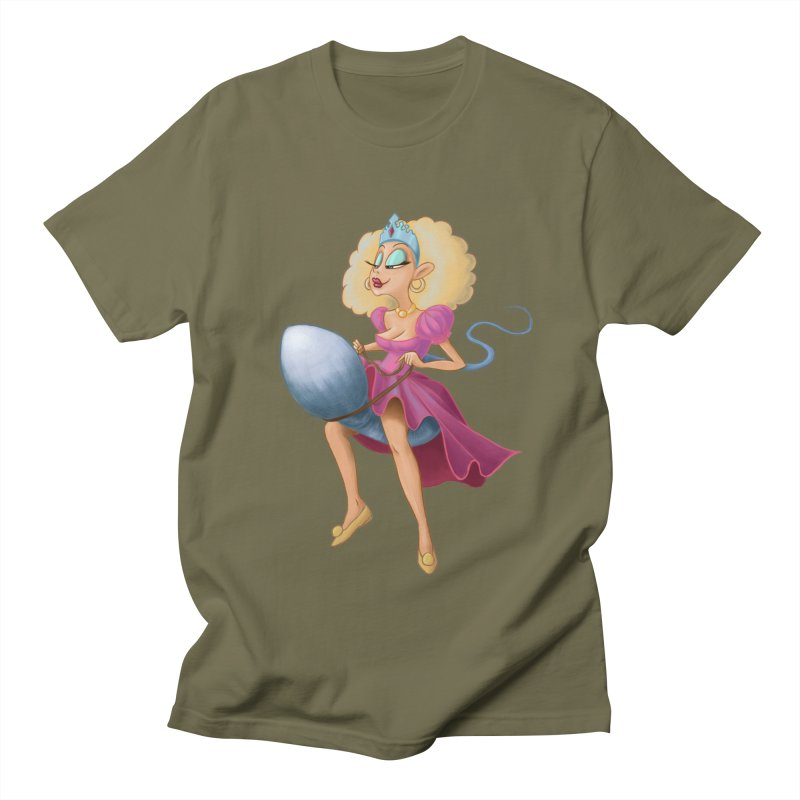Princess on a Spermatozoid Men's T-Shirt by kingakorska's Artist Shop