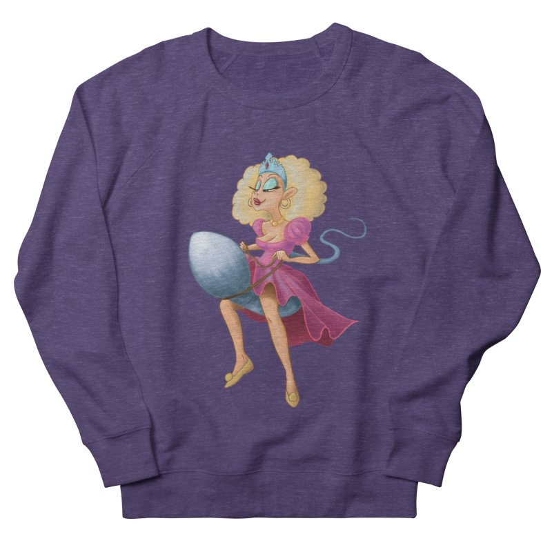 Princess on a Spermatozoid Women's French Terry Sweatshirt by kingakorska's Artist Shop