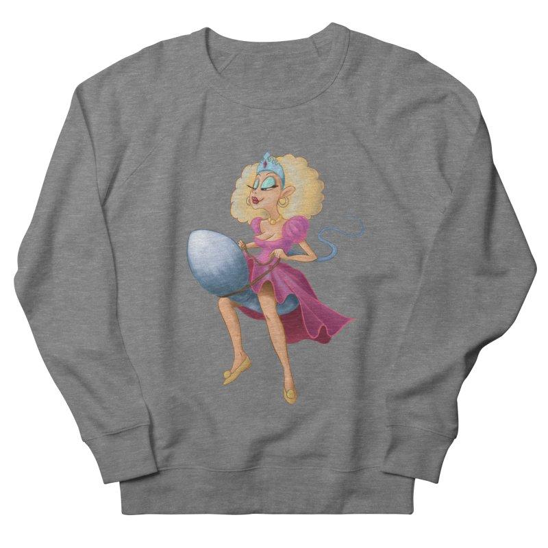 Princess on a Spermatozoid Women's Sweatshirt by kingakorska's Artist Shop