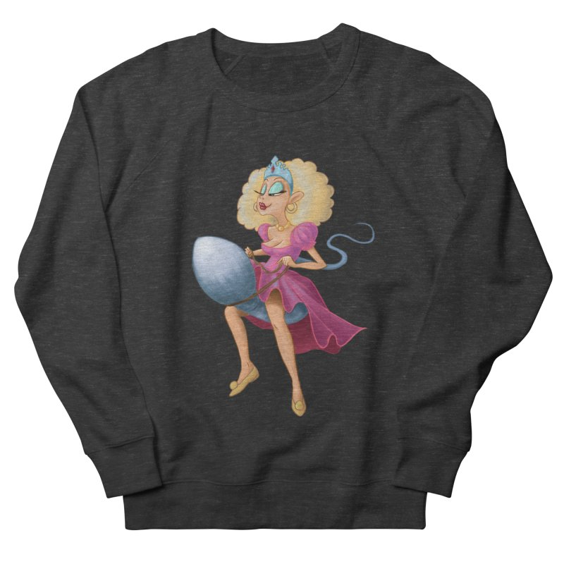 Princess on a Spermatozoid Men's French Terry Sweatshirt by kingakorska's Artist Shop