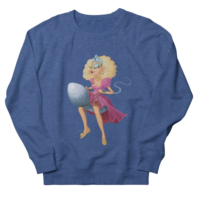 Princess on a Spermatozoid Men's Sweatshirt by kingakorska's Artist Shop