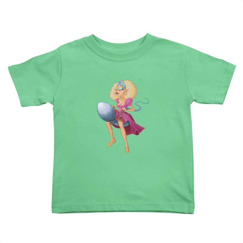 Princess on a Spermatozoid Kids Toddler T-Shirt by kingakorska's Artist Shop