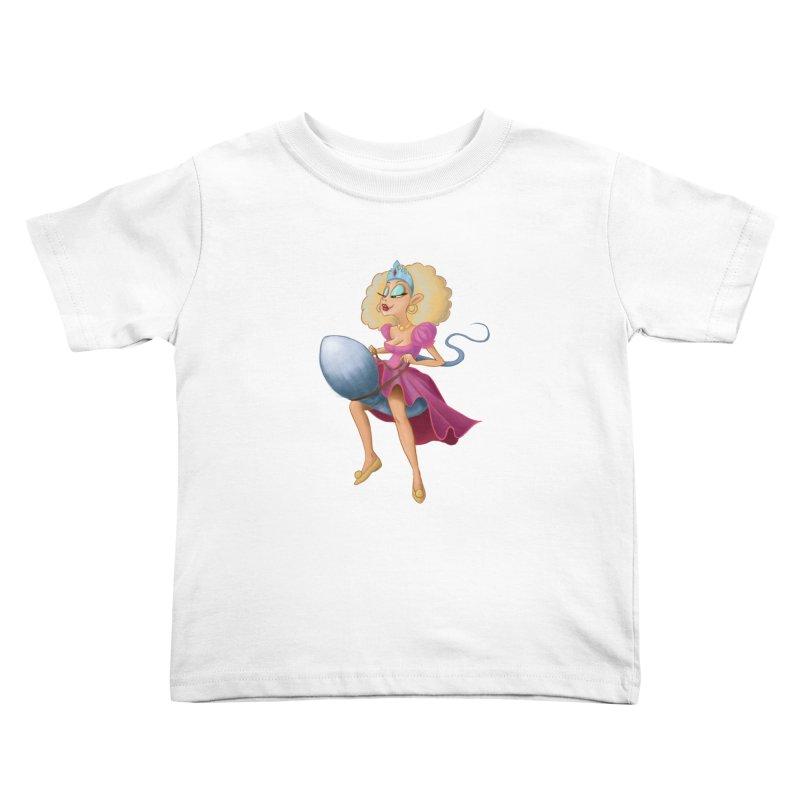 Princess on a Spermatozoid Kids Toddler T-Shirt by kingakorska's Artist Shop
