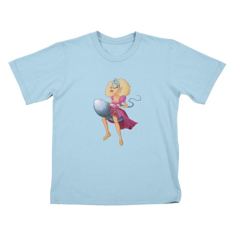 Princess on a Spermatozoid Kids T-Shirt by kingakorska's Artist Shop