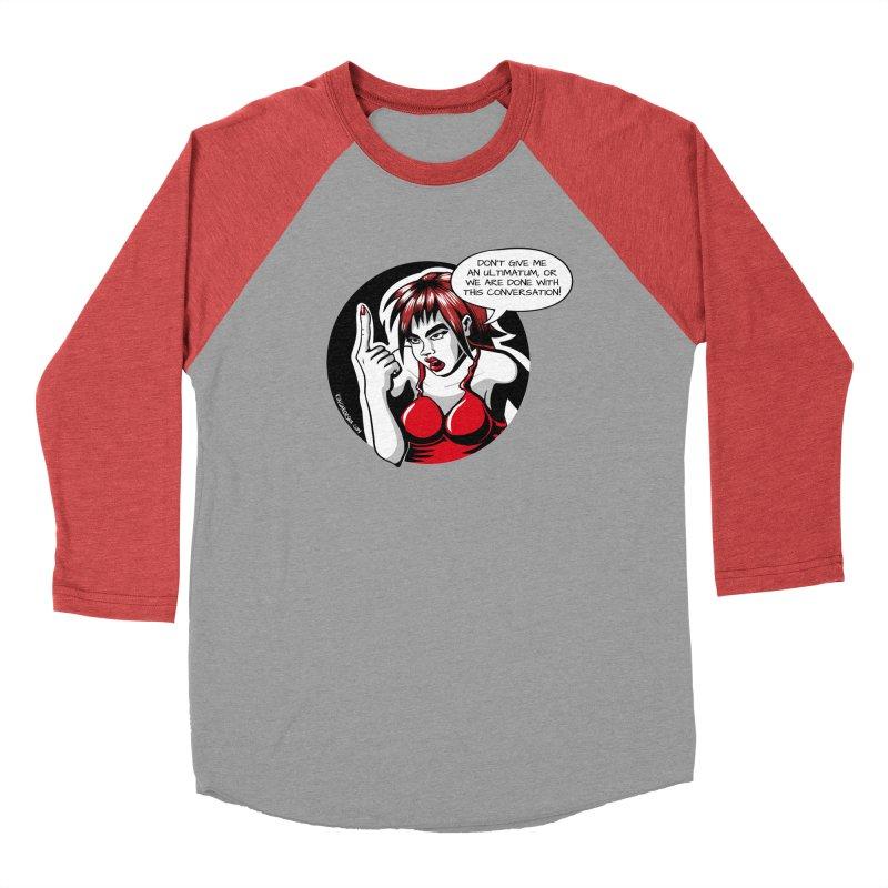 Ultimatum Men's Longsleeve T-Shirt by kingakorska's Artist Shop