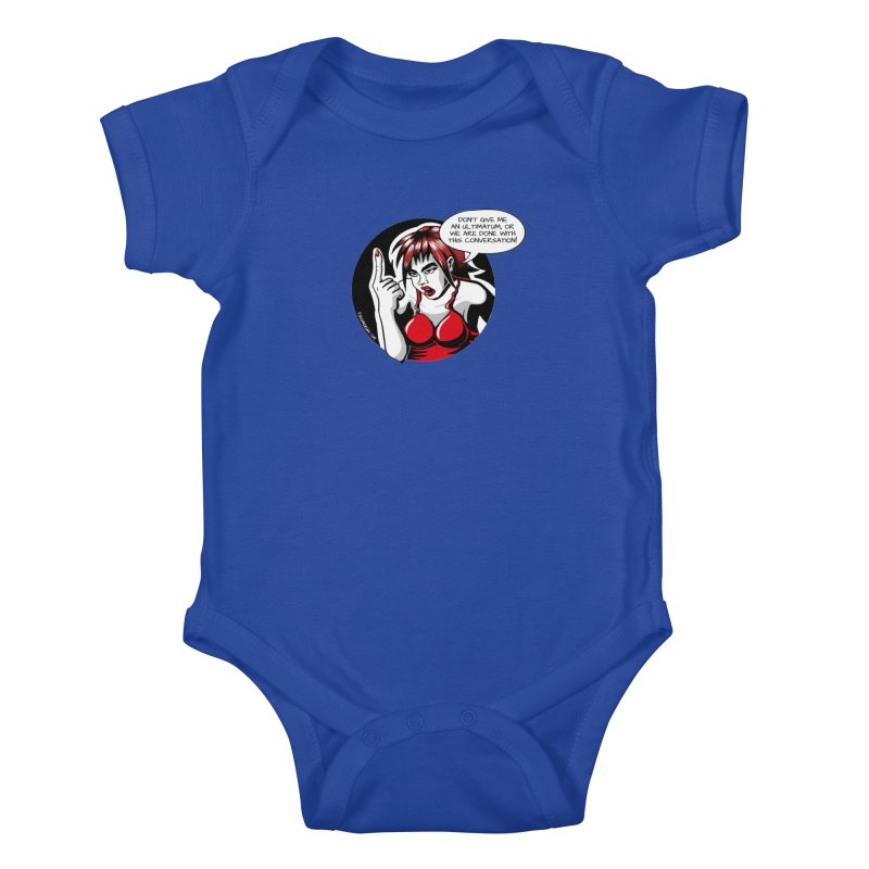 Ultimatum Kids Baby Bodysuit by kingakorska's Artist Shop