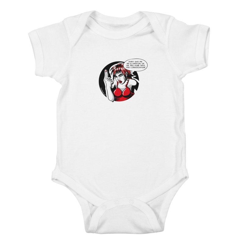 Ultimatum Kids Baby Bodysuit by kingakorska's Artist Shop