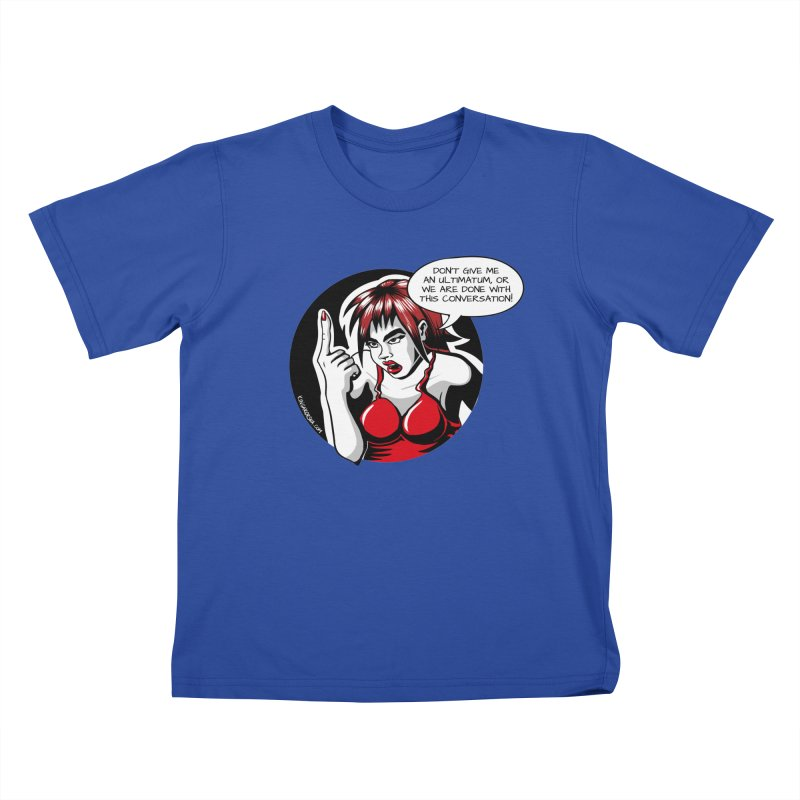Ultimatum Kids T-Shirt by kingakorska's Artist Shop
