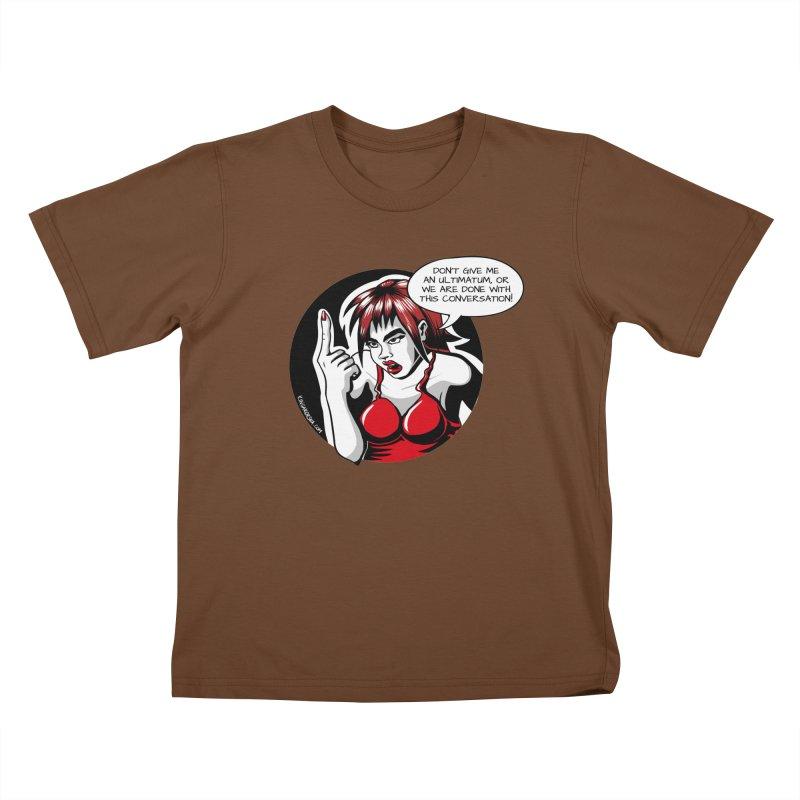 Ultimatum Kids T-Shirt by kingakorska's Artist Shop