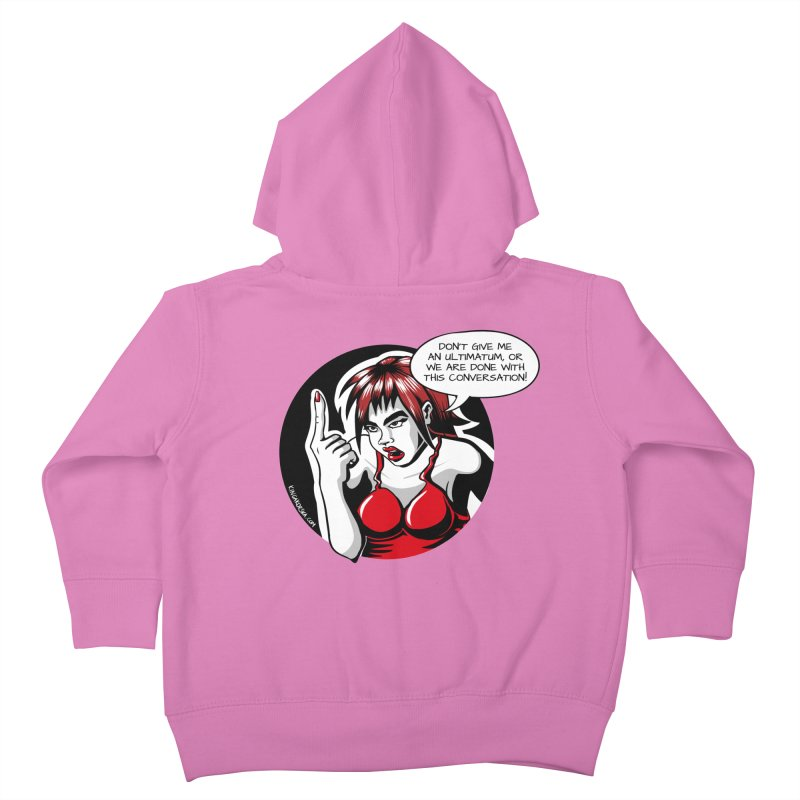 Ultimatum Kids Toddler Zip-Up Hoody by kingakorska's Artist Shop
