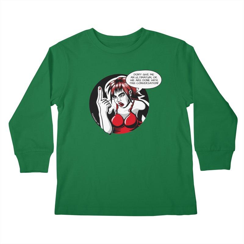 Ultimatum Kids Longsleeve T-Shirt by kingakorska's Artist Shop