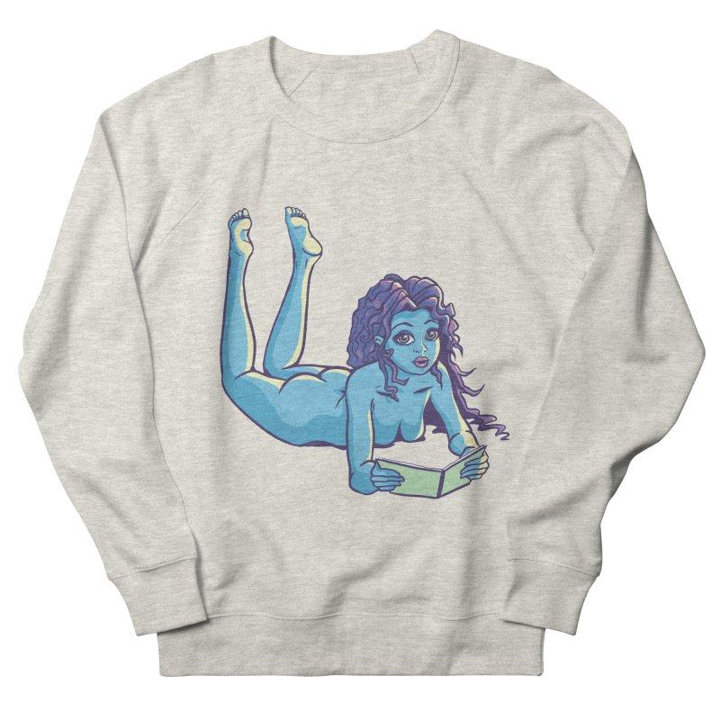 Lady Tou Women's French Terry Sweatshirt by kingakorska's Artist Shop