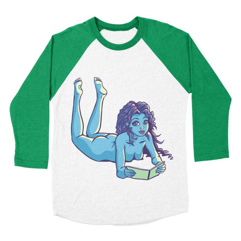 Lady Tou Women's Baseball Triblend T-Shirt by kingakorska's Artist Shop