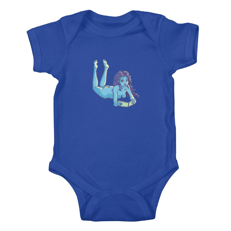Lady Tou Kids Baby Bodysuit by kingakorska's Artist Shop