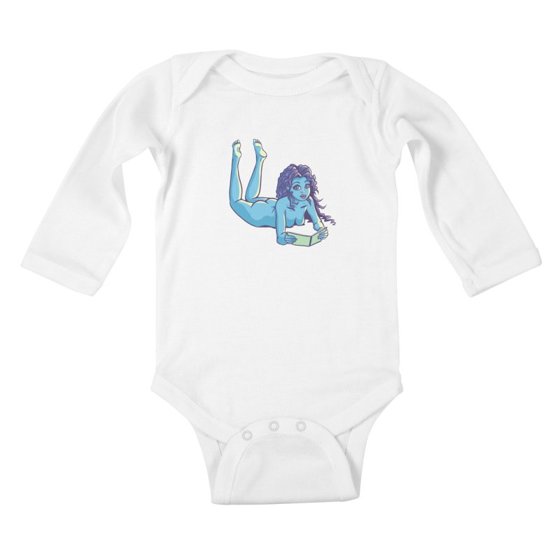 Lady Tou Kids Baby Longsleeve Bodysuit by kingakorska's Artist Shop