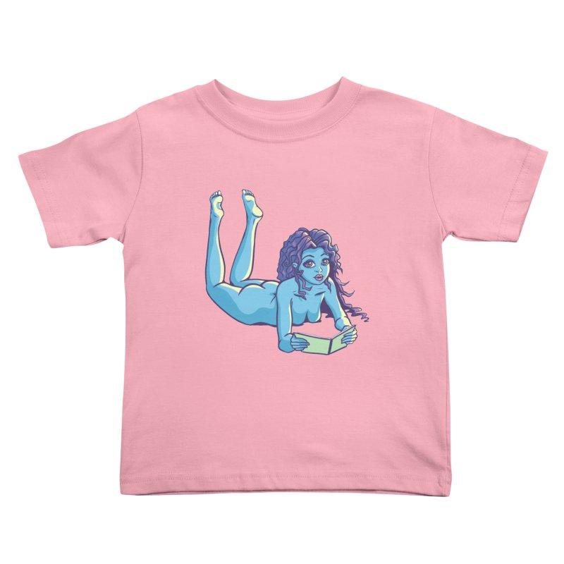 Lady Tou Kids Toddler T-Shirt by kingakorska's Artist Shop