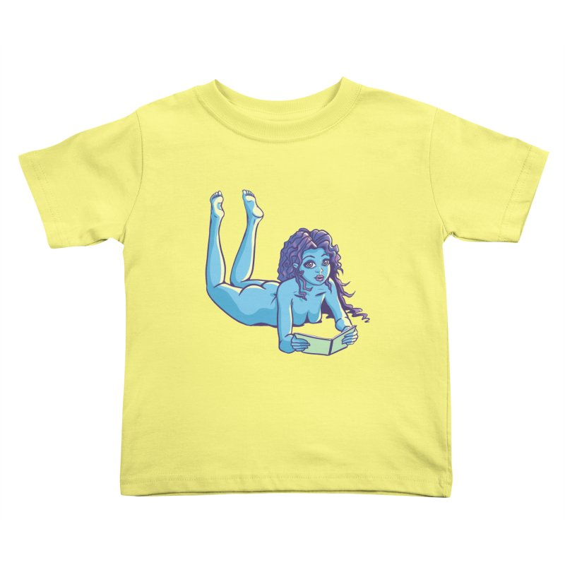 Lady Tou Kids Toddler T-Shirt by kingakorska's Artist Shop