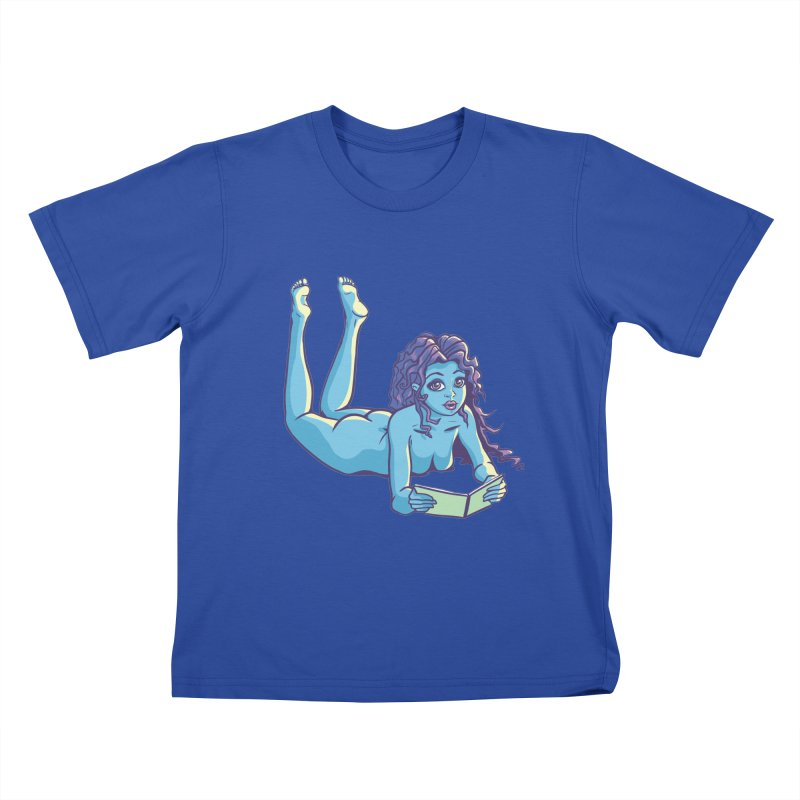 Lady Tou Kids T-Shirt by kingakorska's Artist Shop