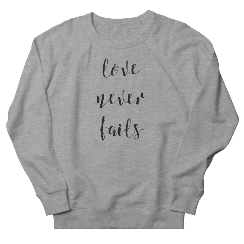 Love never fails    by kingdomatheart's Shop