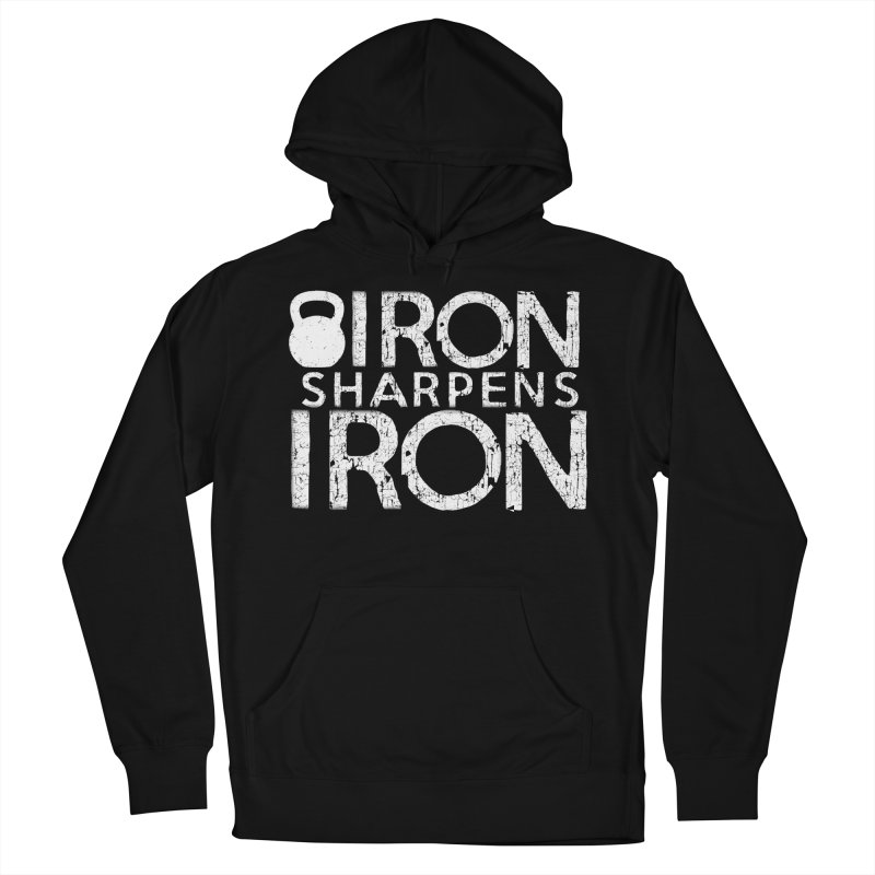 Iron sharpens Iron Men's French Terry Pullover Hoody by Kingdomatheart