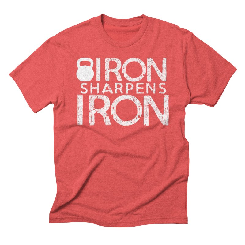 Iron sharpens Iron Men's Triblend T-Shirt by Kingdomatheart