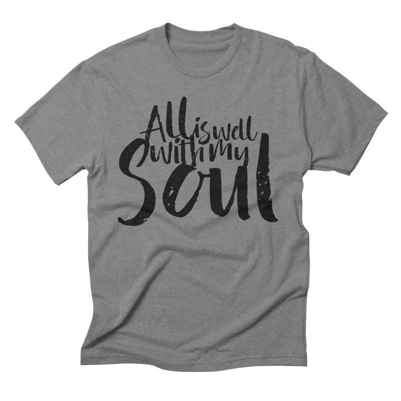 All is well Men's Triblend T-Shirt by Kingdomatheart