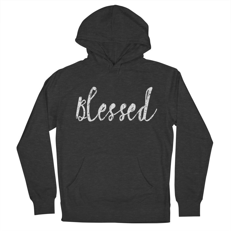 Blessed Men's French Terry Pullover Hoody by Kingdomatheart