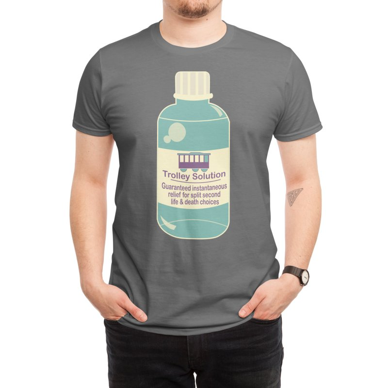 The Trolley Solution Men's T-Shirt by Kingdom of Trends