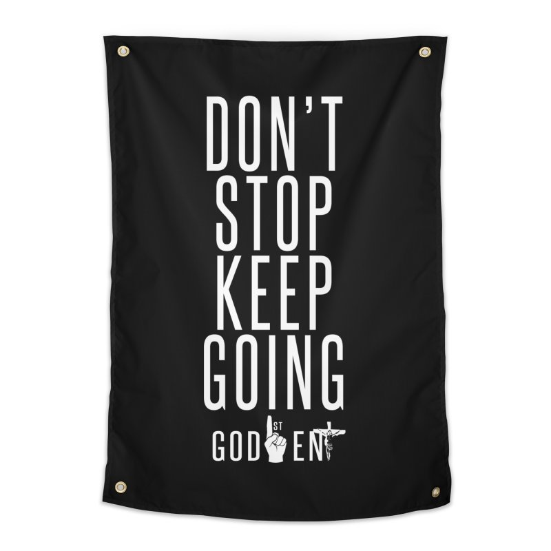 Dont Stop, Keep Going Home Tapestry by King James's Artist Shop