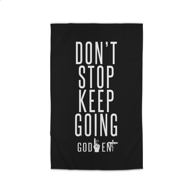 Dont Stop, Keep Going Home Rug by King James's Artist Shop