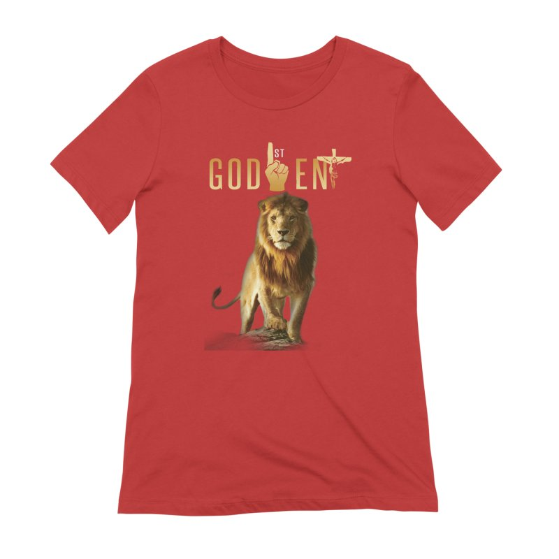 Lion Tee Women's T-Shirt by King James's Artist Shop