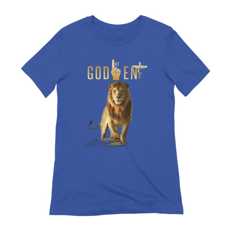Lion Tee Women's T-Shirt by King James's Artist Shop